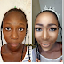 Check Out This Before And after Makeup Photo of a Bride