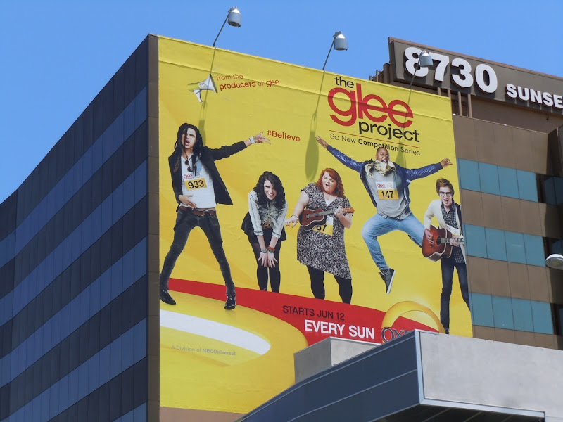 Glee Project TV billboard