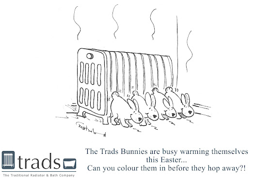 Trads Easter Colouring Giveaway!