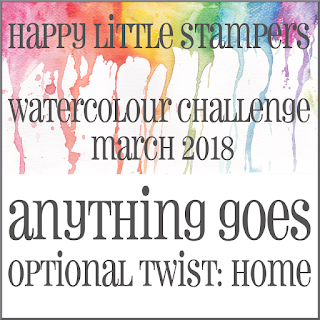 +++HLS March Watercolour Challenge до 31/03