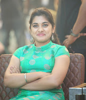 Nivetha Thomas Glam Photos at Ninnu Kori Blockbuster Celebrations