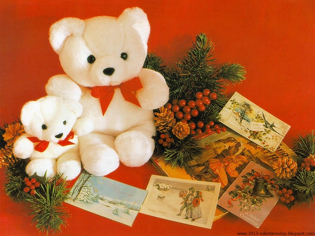 Christmas Teddy Bear Wallpaper: My Quotes: Happy Teddy Day 2013- Teddy Bear HD Wallpapers