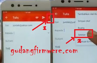 Oppo F3 CPH1609 Lupa Akun Email