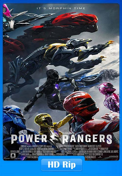 Power Rangers 2017 Hindi Telugu Tamil 720p BDRip ESubs x264 | 480p 300MB | 100MB HEVC