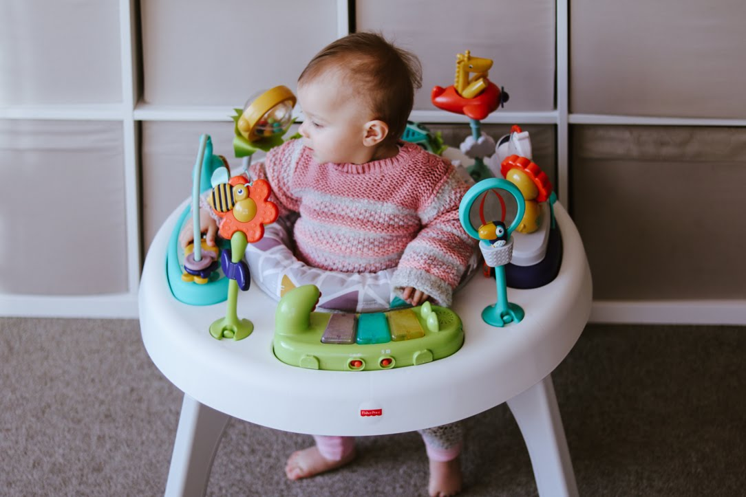 Playtime Fisher Price 2 In 1 Sit To Stand Activity Centre