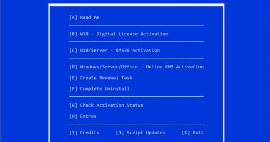 أداة تفعيل الويندوز والأوفيس | Microsoft Activation Script v0 2 Beta