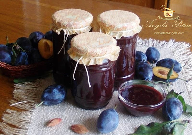 Reteta gem de prune, gem traditional