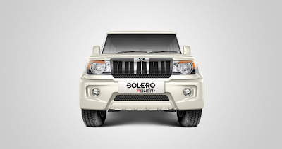 Mahindra Bolero Power Plus front angle image HD