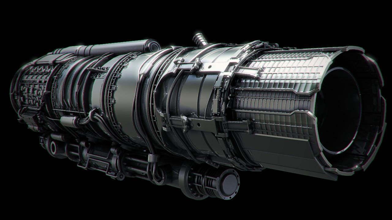 jet engine turbine and-#33