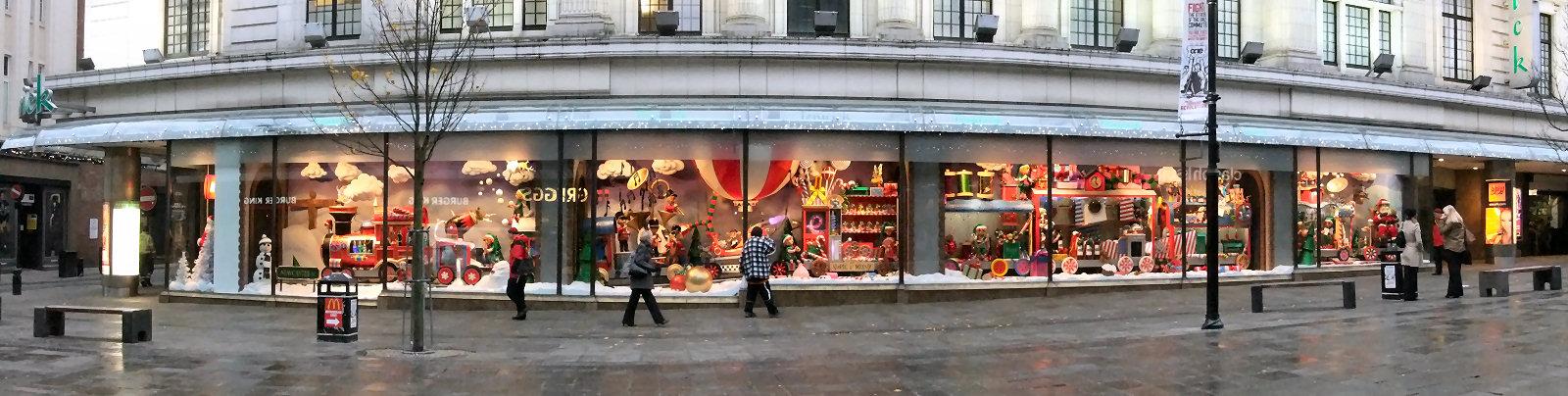 Photographs Of Newcastle: Fenwicks Christmas Window
