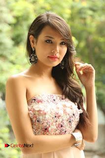 Actress Sagarika Pictures in Short Dress at Friend Request Press Meet  0051.JPG