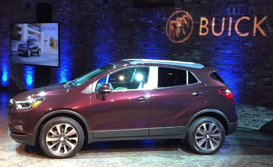 2017 Buick Encore Exterior