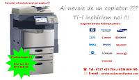 inchiriere si service imprimante si copiatoare 0727423704