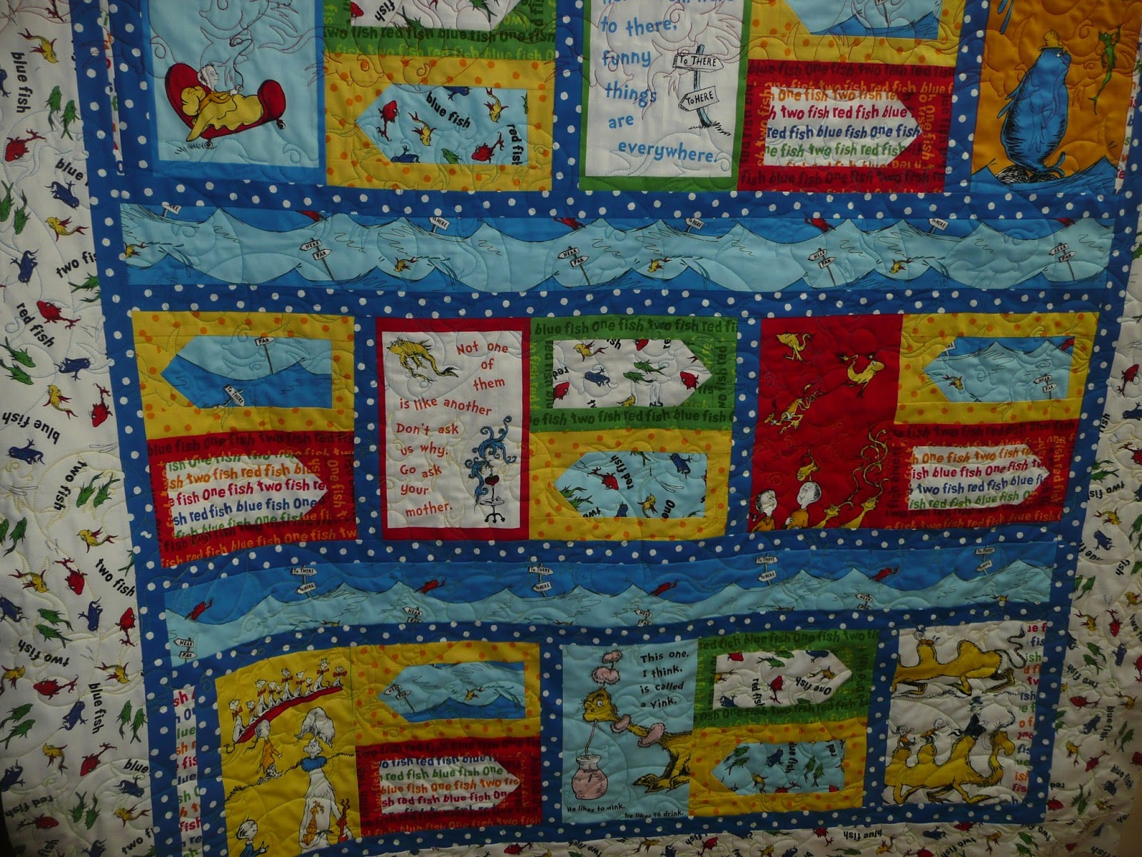 may crumby sane quilt fish friday quilting crazy
