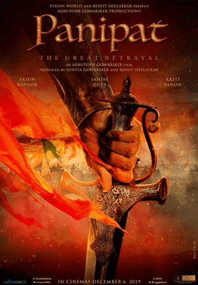 Panipat Star Cast, Panipat Movie Details, Panipat release Date, Panipat story Plot