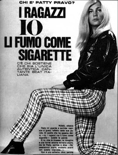 Patty Pravo songs and biography of Italian singer