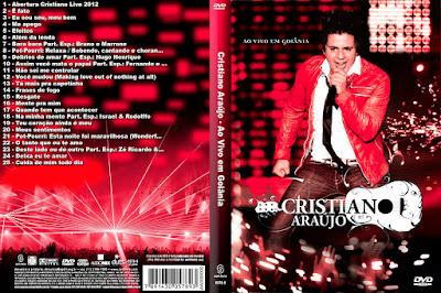 DVD Cristiano Araújo Ao Vivo Em Goiânia DVD Capa