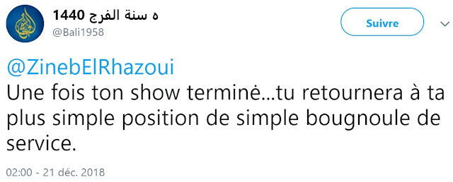 Zineb El Rhazoui a reçu toutes les insultes racistes intracommunautaires imaginables