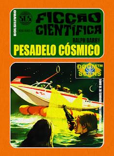 bolsilivro sos ficção científica cedibra série verde ralph barby pesadelo cosmico