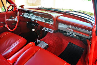 1962 Chevrolet Impala SS Convertible Dashboard