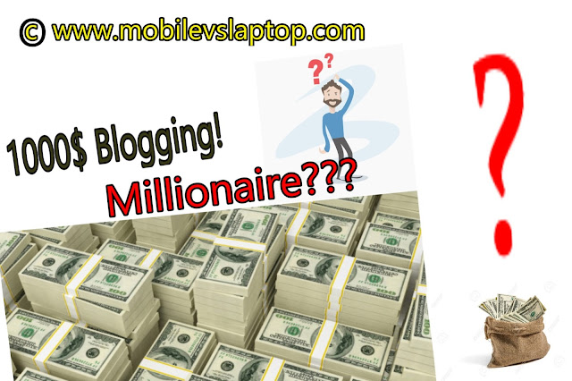 Become Millionaire In Just 12 Months From Blogging!