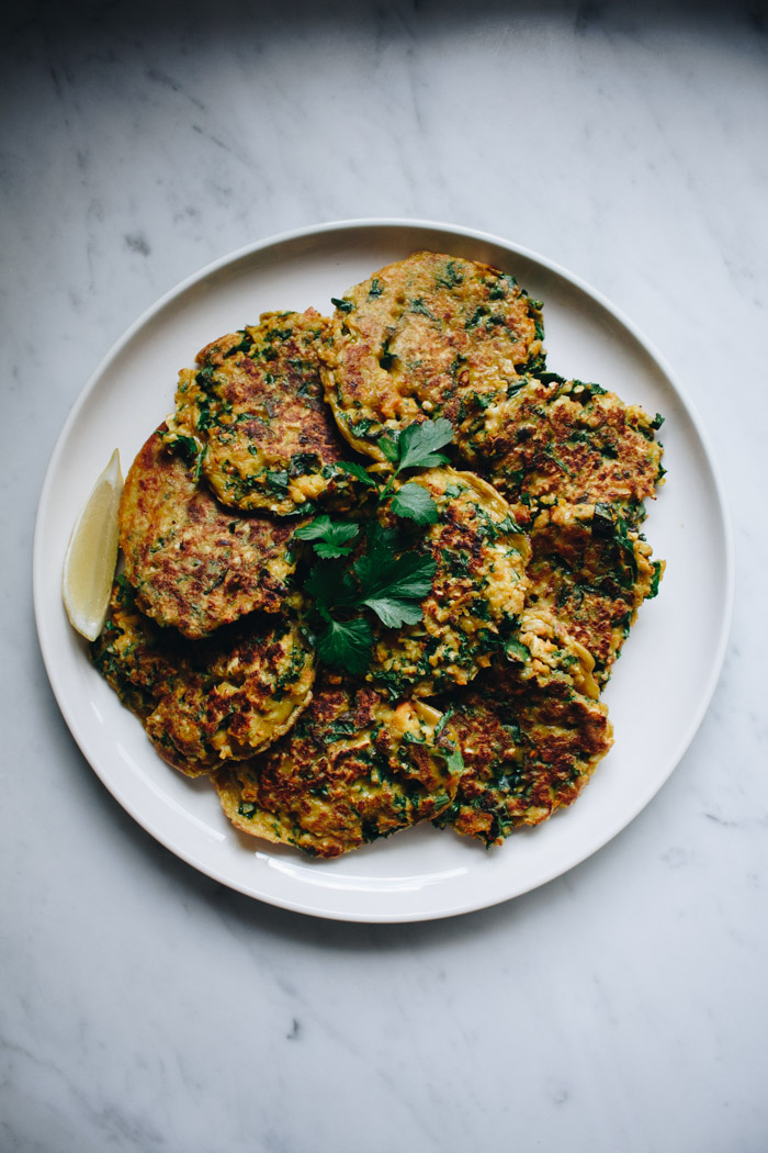 Low FODMAP Vegetable Fritters