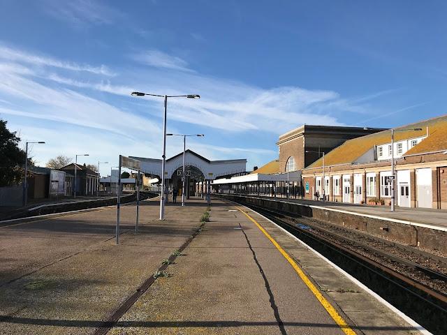 Platform Canopy, Margate Station, Kent