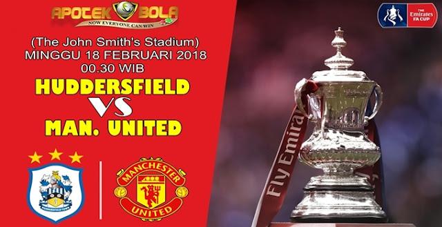 Prediksi Huddersfield Town vs Manchester United 18 Februari 2018