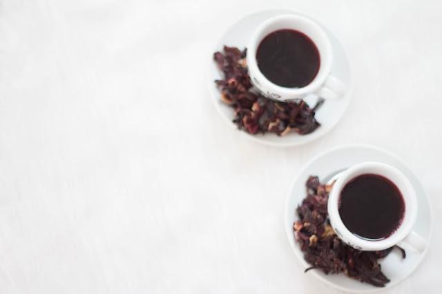 Chá de Hibisco - 21 dias com a Rafa- Qualidade de vida.