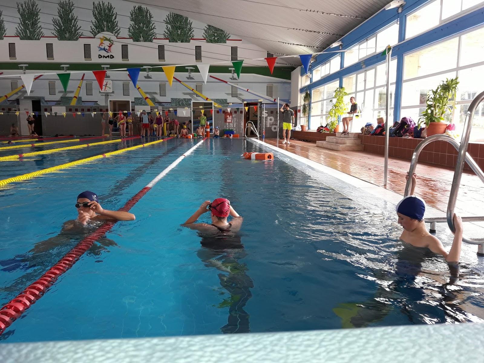 Educaci n f sica salvamento y socorrismo en la piscina de for Piscina don benito