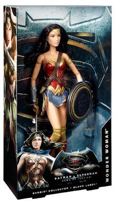TOYS : JUGUETES - BARBIE Collector Black LabelWonder Woman : Mujer Maravilla - Gal Gadot | Muñeca Película BATMAN VS SUPERMAN Producto Oficial 2016 | Mattel DGY05 | A partir de 6 años Comprar en Amazon España