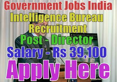 Intelligence Bureau IB Recruitment 2017