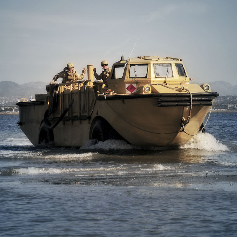 Amphibious Car From  S