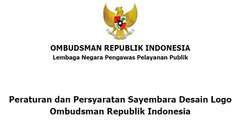 Sayembara Desain Logo Ombudsman RI Tahun 2017