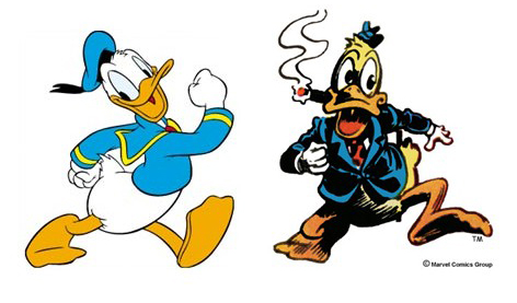 donald duck vs howard duck fakta fakta