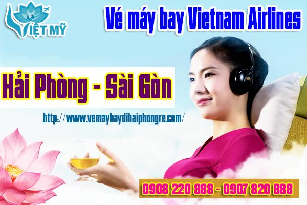 Giá vé máy bay Vietnam Airlines Hải Phòng Sài Gòn
