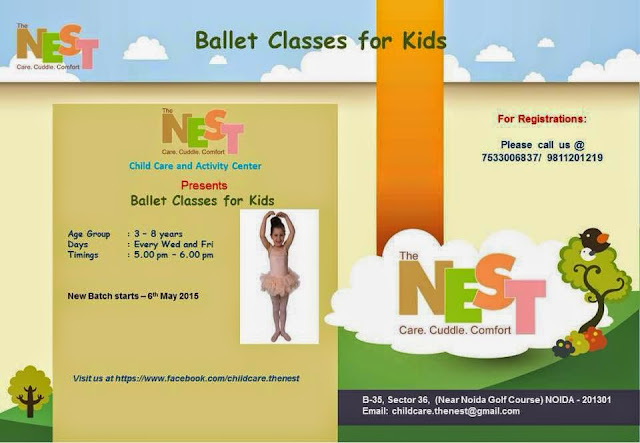 Ballet Classes for Kids in Noida