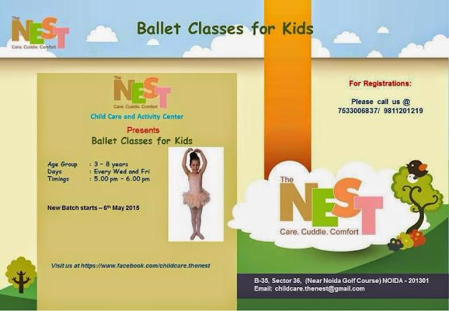 Ballet Classes for Kids in Noida