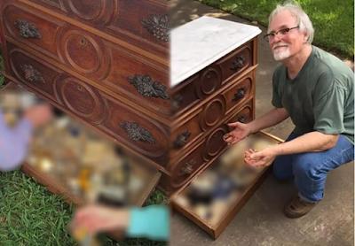 Emil Knodell membeli lemari bekas isinya mengejutkan
