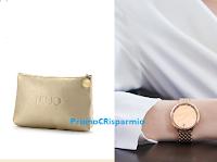 Logo Stroili Oro : gli orologi Liu Jo ti regalano la esclusiva pochette