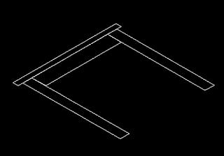Latihan autocad 3d - tampilan SW Isometric