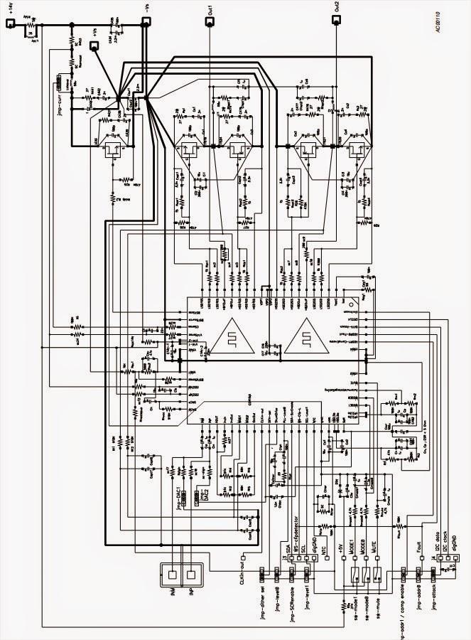 Amplifiercircuits Com Mono Bridge Amplifier