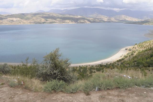 Travel Photos With No Filter and edits man made reservoir chimgan mountains uzbekistan