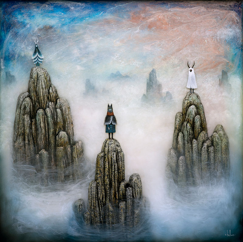 Fantastical Romanticism: Paintings by Andy Kehoe