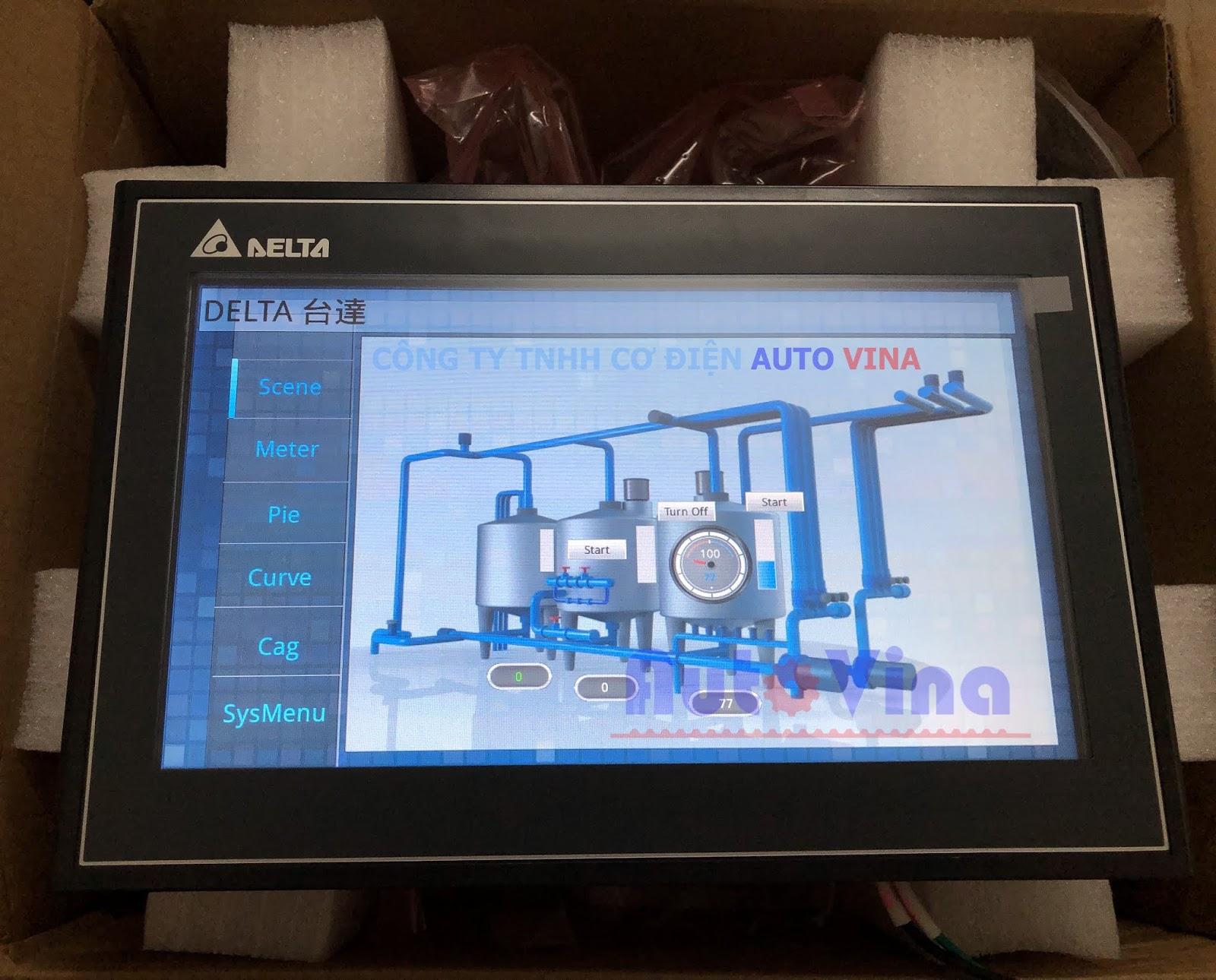 Đại lý bán màn hình cảm ứng HMI Delta 10.1 inch DOP-110WS