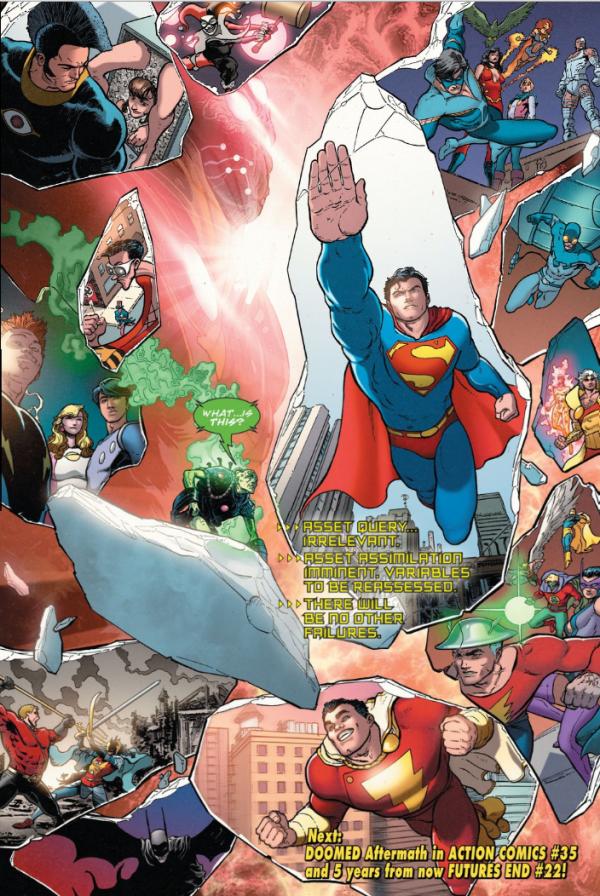 DC Comics CONVERGENCE