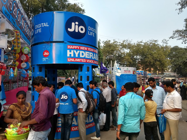Jio at Nampally Exhibition-