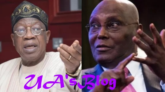 Back your allegations with evidence, Atiku, PDP reply Lai Mohammed