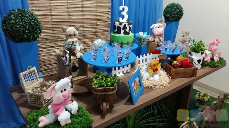 Decoraç u00e3o de festa infantil Fazendinha Porto Alegre
