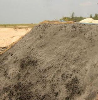 Dumped  Fly Ash in India